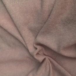 Ткань трикотаж ангора арктика бежевый лен (метр )