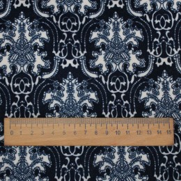 Ткань трикотаж ангора арктика темно бежевый (метр )