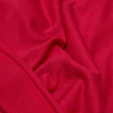 Ткань трикотаж вискоза малиновый (метр )