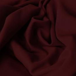 Ткань трикотаж дайвинг однотонный бордовый (метр )