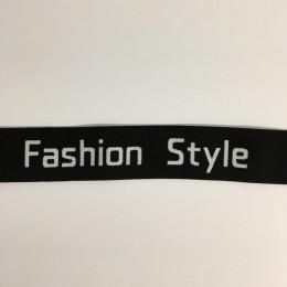 Резинка с логотипом Fashion Style 40мм  (25 метров)
