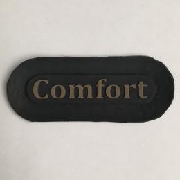 Этикетка силиконовая (изготовление) Comfort 6см х 2,5см (Штука)