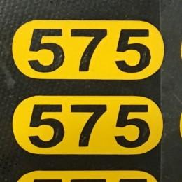 Этикетка термотрансферная 575 2х1см (Штука)