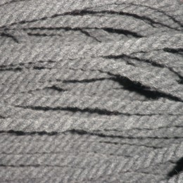 Шнур канат 8мм акриловый серый (50 метров)