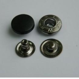 Кнопка пластиковая 15 мм турция черная (720 штук)