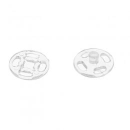 Кнопка пластиковая пришивная 20 мм прозрачная (1000 штук)