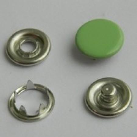 Кнопка трикотажная беби закрытая 9,5 мм турция ментол 247 (1440 штук)
