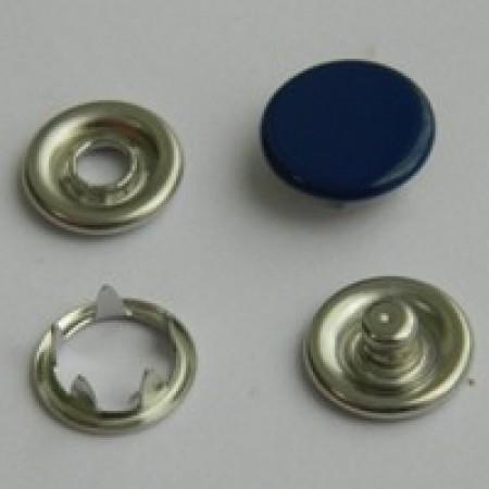 Кнопка трикотажная беби закрытая 9,5 мм турция синий 569 (1440 штук)