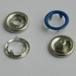 Кнопка трикотажная беби кольцо 9,5 мм турция электрик 340 (1440 штук)