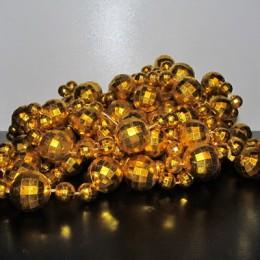 Бусы на вес большие золото (1 килограмм)