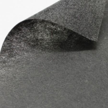 Флизелин для вышивки клеевой 512 90см черный (100 метров)