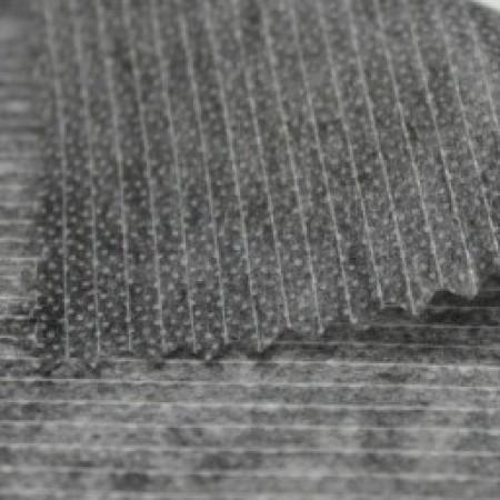 Флизелин нитепрошивной 90см черный (200 метров)
