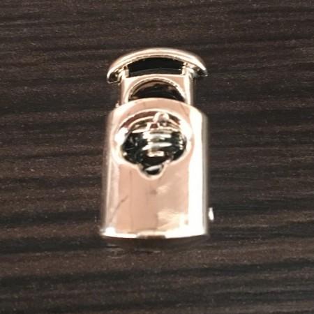 Фиксатор под метал на 1 отверстие 3358 золото (1000 штук)