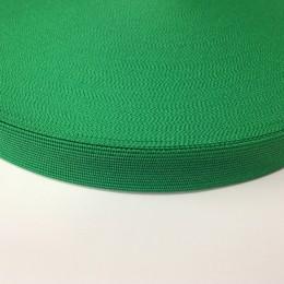 Тесьма окантовочная 23мм зеленый (100 метров)