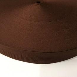 Тесьма окантовочная 23мм коричневый (100 метров)