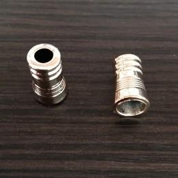 Наконечник для шнура под металл №А21 (3855) золото (1000 штук)