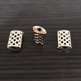 Наконечник для шнура под металл №4001 золото (1000 штук)