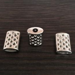 Наконечник для шнура под металл №4001 никель (1000 штук)