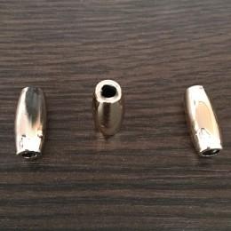 Наконечник для шнура под металл №А211 золото (1000 штук)