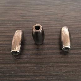 Наконечник для шнура под металл №А211 темный никель (1000 штук)