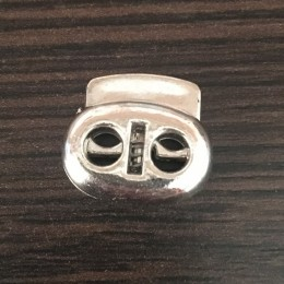 Фиксатор под метал на 2 отверстия 3370/71 никель (1000 штук)