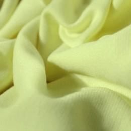Ткань трикотаж французский лимонный (метр )