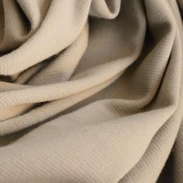 Ткань трикотаж французский светло-беженый (метр )