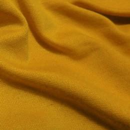 Ткань трикотаж французский горчичный (метр )