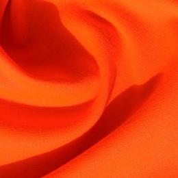 Ткань трикотаж французский оранжевый (метр )