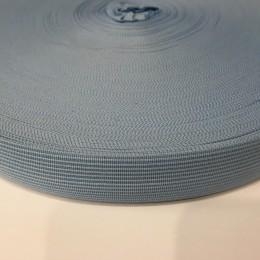 Тесьма окантовочная 23мм голубой (100 метров)