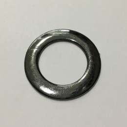 Кольцо пластиковое 5мм темный никель 5 см (200 штук)