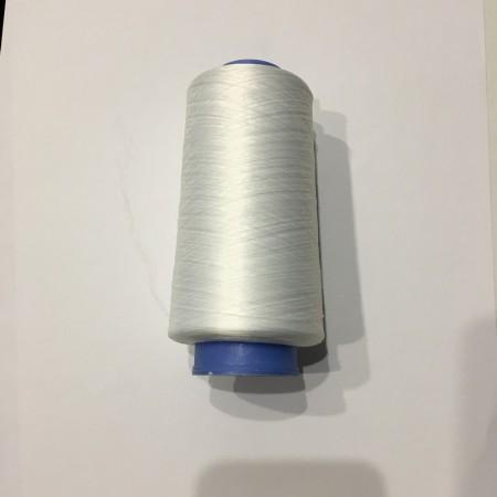 Нитка швейная оверлочная белый (5000 метров)
