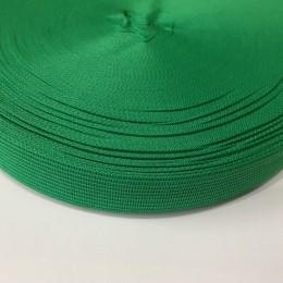 Тесьма окантовочная 18мм зеленый (50 метров)