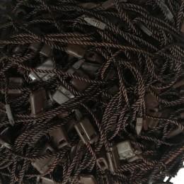 Крепеж-пломба для этикеток шнур коричневая (1000 штук)