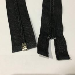 Молния нейлон пластмасса 70см №5 580 черный (50 штук)