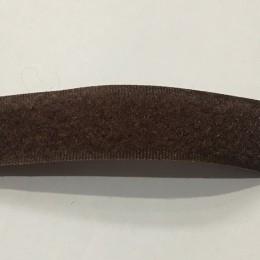Липучка 20мм коричневый 108 (25 метров)
