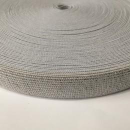 Резинка 20мм белый люрекс (25 метров)
