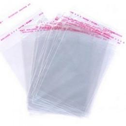 Пакет для одежды с клеевым клапаном 15х32см (100 штук)