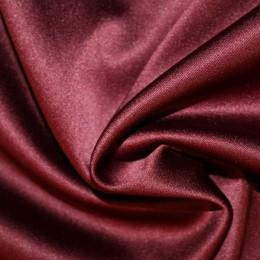 Ткань атлас королевский стрейч бордовый (метр )