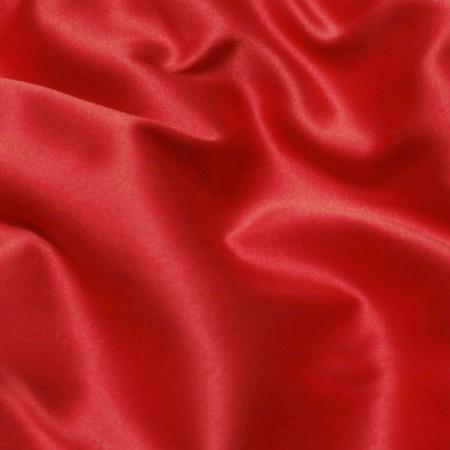 Ткань атлас коттон красный (метр )
