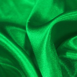 Ткань креп-сатин зеленый трава (метр )