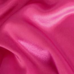 Ткань креп-сатин малиновый (метр )