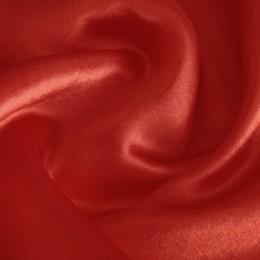 Ткань креп-сатин красный (метр )