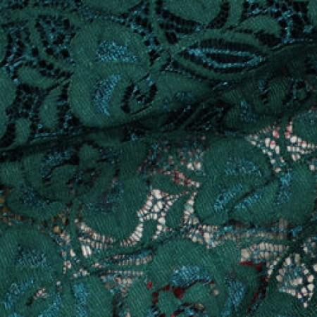 Ткань гипюр стрейчевый розочки бутылка (метр )