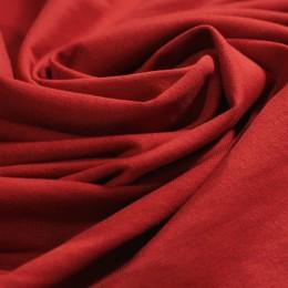 Ткань футер двунитка красный (метр )