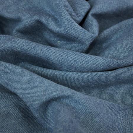 Ткань джинс голубой (метр )