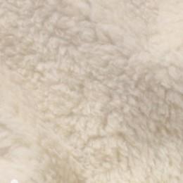Мех искусственный овчина бежевая 400-ZWT (метр )