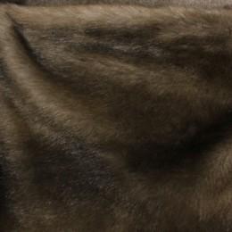 Мех искусственный норка коричневая (метр )