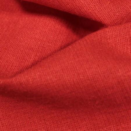 Ткань лен стрейчевый красный (метр )