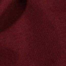 Ткань лен стрейчевый бордовый (метр )